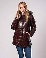 Женская молодежная зимняя куртка