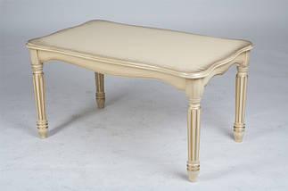 Журнальный стол Венецианский (Темный орех/Слоновая кость), фото 3
