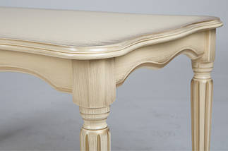 Журнальный стол Венецианский (Темный орех/Слоновая кость), фото 2