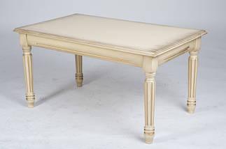 Журнальный стол Готика (Тёмный орех/Слоновая кость), фото 2