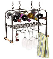 Подставка-полка  для вина подвесная - 207