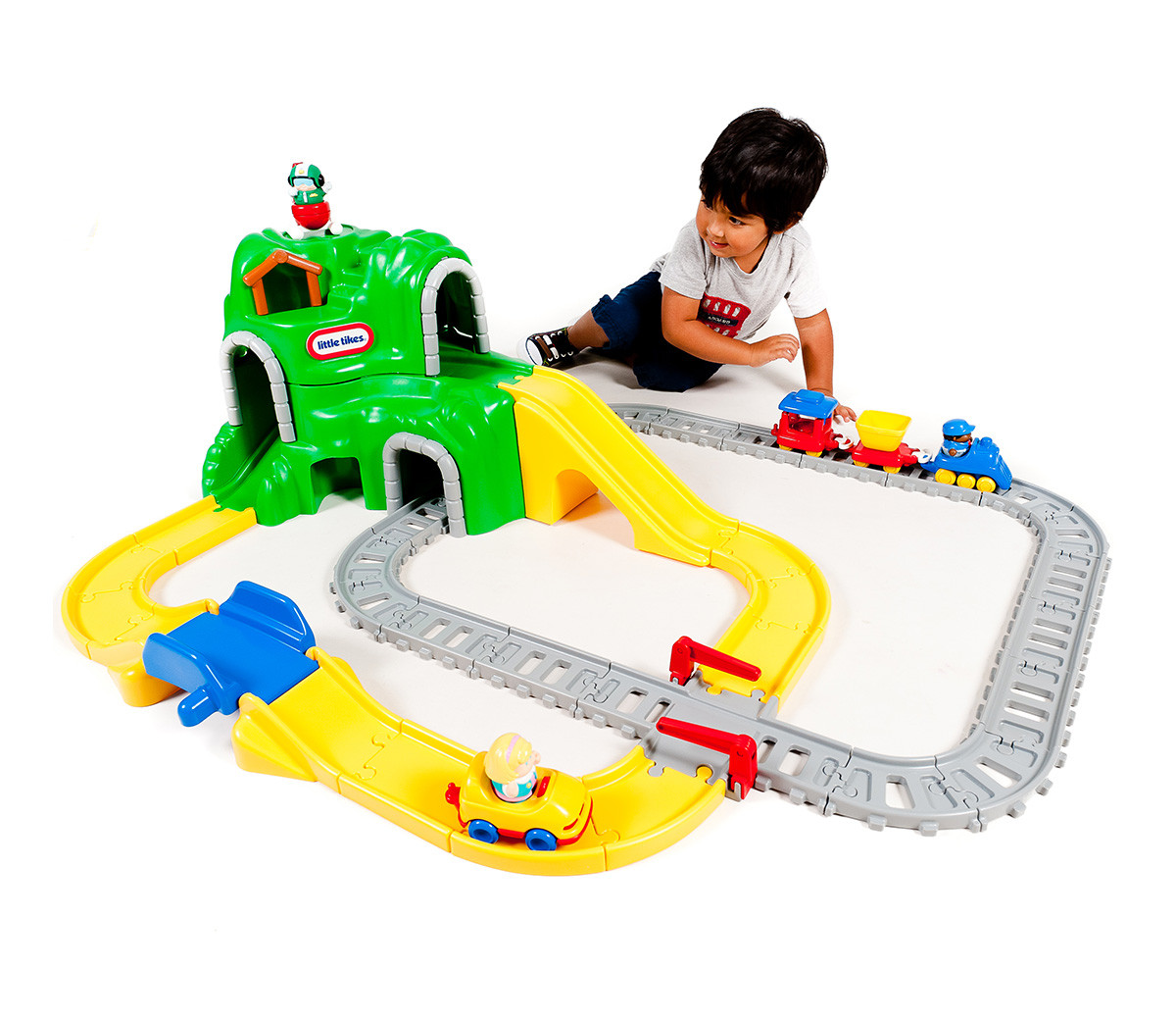 Железнодорожный комплекс Little Tikes 4252, фото 1