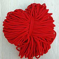Шнур для сумок,корзин,ковров 6 мм красный
