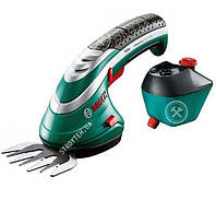 Bosch ISIO Ножницы для травы аккумуляторные + насадка-распылитель (060083310G)