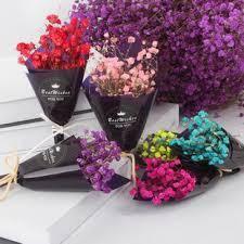 Подарочный сухой цветочный мини букетик. Сухоцвет