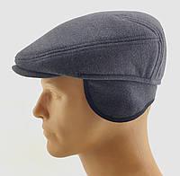 Реглан мужские кепки остался 56 размер утепленная с ушами кепка мужская, фото 1