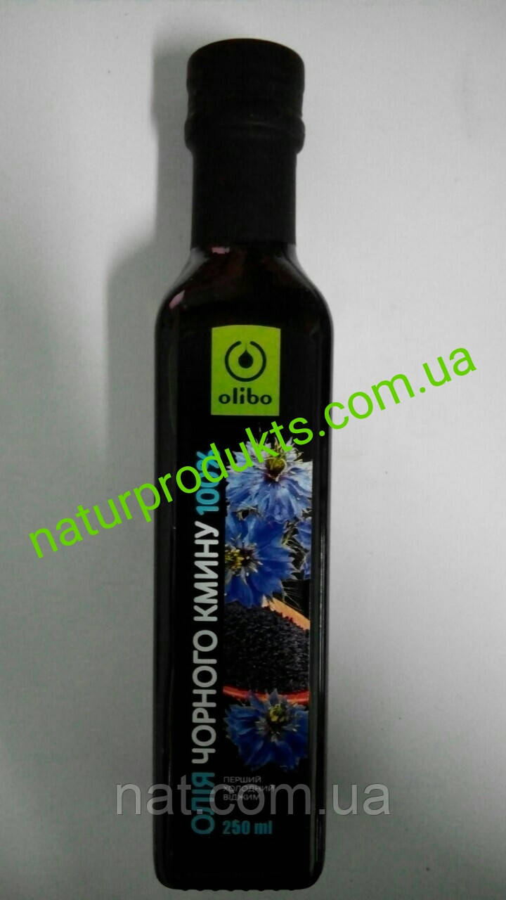 """Масло черного тмина (калинджи) 100% прямого холодного отжима ТМ """"Olibo"""", 250 г"""