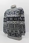 Шерстяная женская туника двойная вязка, фото 5