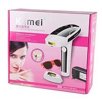 Лазерный эпилятор KM 6812, Фотоэпилятор для домашнего использовния, Безболезненный фото эпилятор
