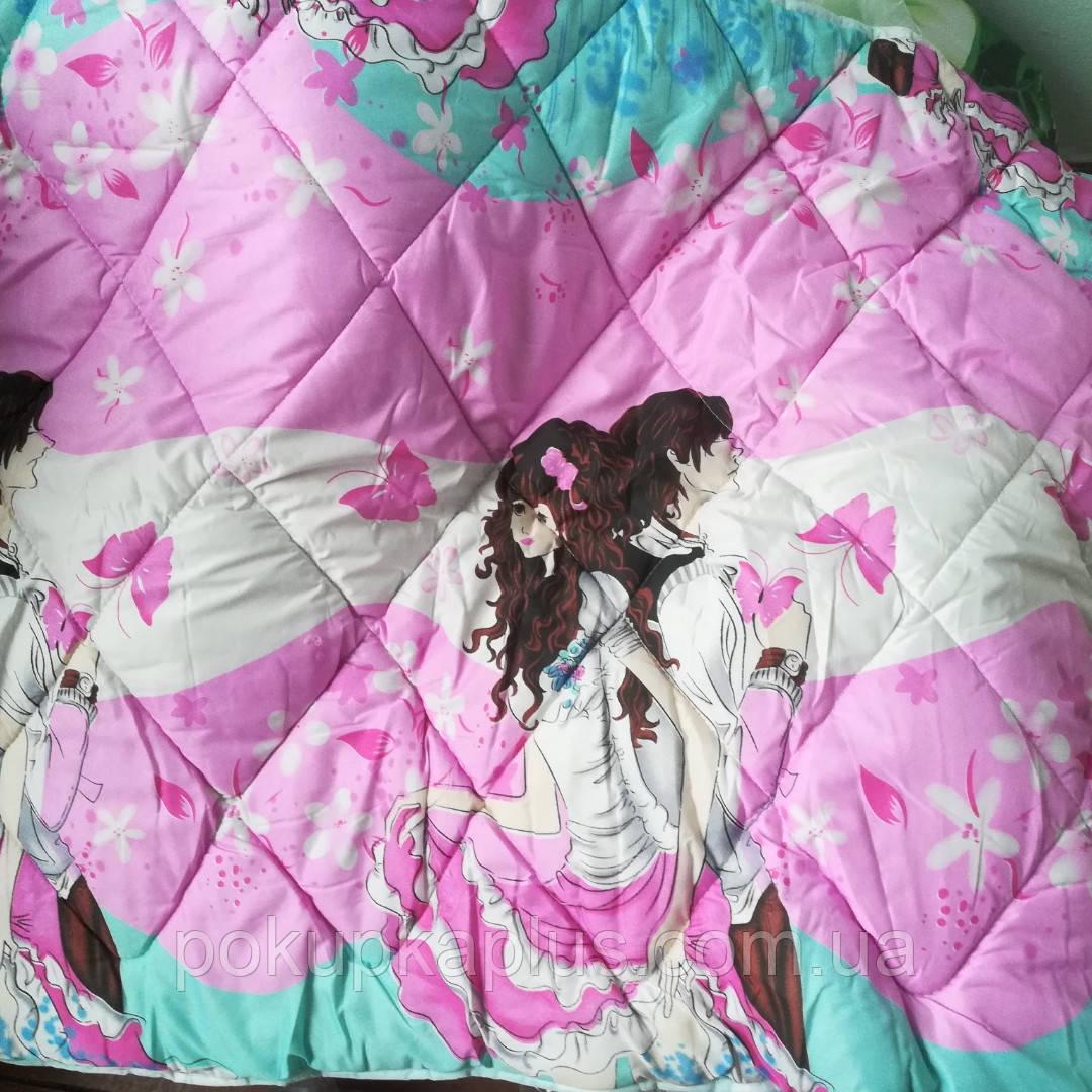 Детское одеяло с подушкой 110*140 двойной силикон