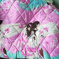 Детское одеяло с подушкой 110*140 двойной силикон, фото 1