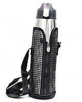 Термос-поилка Fashion 260 1л, серебро, фото 1