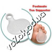Footmate Toe Supporter Защитная ортогелевая подушка под плюсну супинатор 2 шт, фото 1
