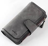 Женский кошелек Baellerry Forever темно серый, фото 1