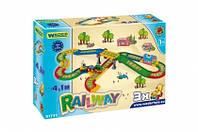 """Игровой набор Wader - Детская железная дорога серии """"Kid Cars"""" 4,1 м"""