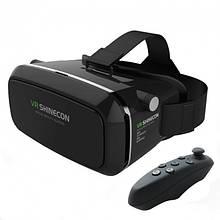 Очки виртуальной реальности VR BOX SHINECON c пультом Черный