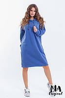 Теплое платье / трехнитка на флисе / Украина 7-2-226, фото 1