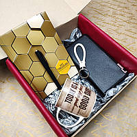 Подарочный набор для делового мужчины, подарок офисному работнику
