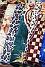 Акриловое плед-одеяло Евро размера - Разные окрасы