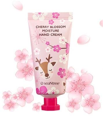 Увлажняющий крем для рук SeaNtree Moisture Hand Cream Cherry blossom 30 мл