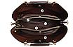 Сумка женская кожаная через плечо Charlcs Kcith Черная, фото 3