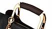 Сумка женская кожаная через плечо Charlcs Kcith Черная, фото 7