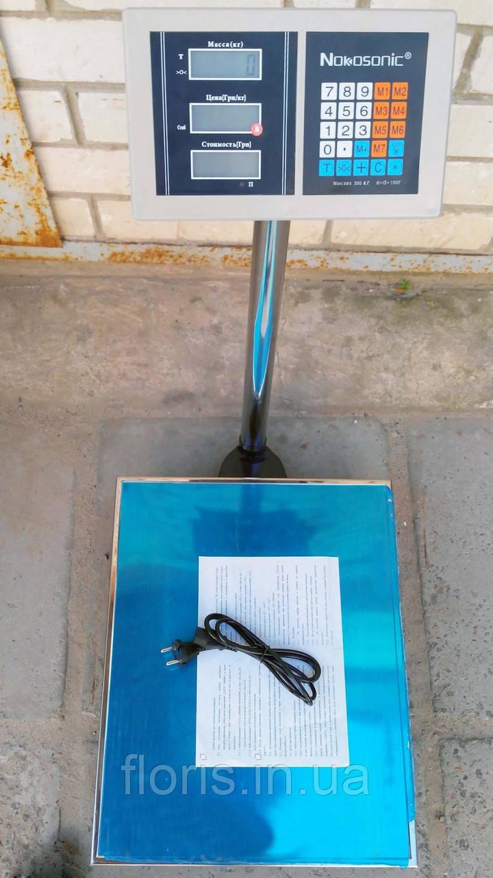 Весы платформенные Nokasonik 300 кг