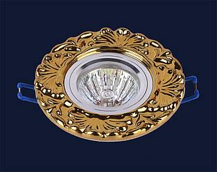 Врезной гипсовый светильник под лампу мр16&705N110