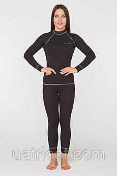 Термобелье повседневное женское Radical Rock XL Черный с серым (r0411)