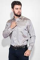 Рубашка 50PD709-9 цвет Серебристый