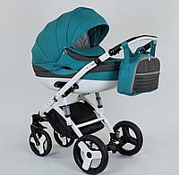 Детская коляска 2-в-1 Lumi (Люми лен) на пластиковой корзине