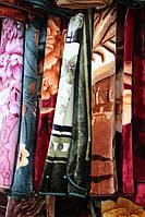 Плед-одеяло акриловое Евро стандарта разные цвета