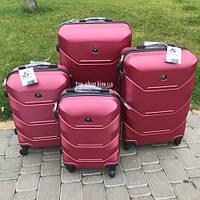 Дорожный чемодан 4х на колесах Fly (комплект) 4 шт