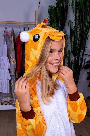Кигуруми детские. Пижама кигуруми. Кигуруми для детей. Кигуруми жираф. Кігурумі дитячі. Дитяча піжама, фото 2