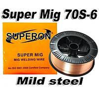 Сварочная проволока омедненная / SUPERON  / 15 кг / Ø мм, фото 1
