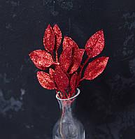 Пучок лаврового листя червоних брокат, фото 1