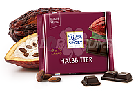 Шоколад Ritter Sport Halbbitter 100 гр. Германия