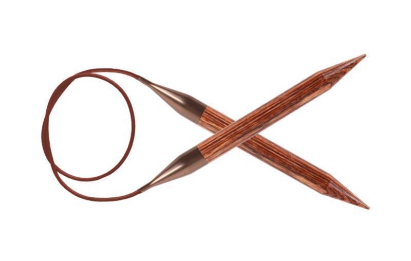 Спицы круговые Ginger KnitPro, 40 см, 6,50 мм