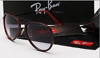 Очки Ray-Ban авиатор 4176  коричневые