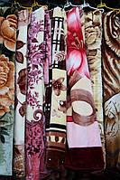 Акриловое плед-одеяло Евро размера - Цветочки