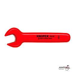 Ключ гаечный рожковый 18 мм 1000V - Knipex 98 00 18