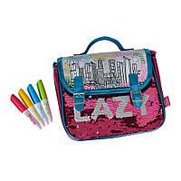 Детская сумка раскраска набор для творчества раскрась сумку Simba Toys Color me mine 6374265