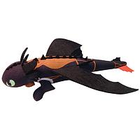 Большой дракон Беззубик со звуковыми эффектами с функцией рогатки