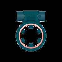 Ерекційне кільце c вибропулей Magic Ring Green ML Creation (My Love), фото 1