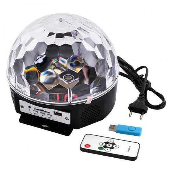 Диско шар MP3 Magic Bull 220V блютус