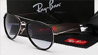 Окуляри Ray-Ban 4176 авіатори чорний, фото 1