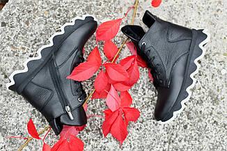 "Ботинки "" Houp_зима ""  Зимние ботинки. НАТУРАЛЬНАЯ КОЖА."
