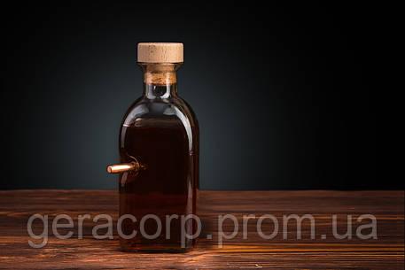 Графин квадратный 0.7 литра с «Застрявшей» Пулей .375, фото 2