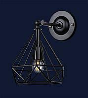 Настеннй светильник бра в стиле лофт&707W157-1 BK