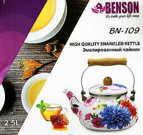 Эмалированный чайник Benson 109